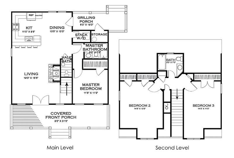 The Willow Home Floorplan