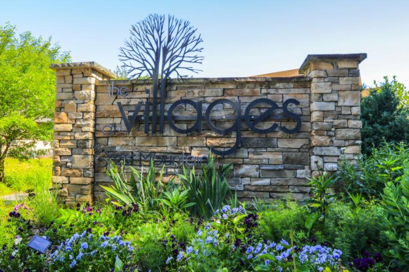 Villages Entrance Sign