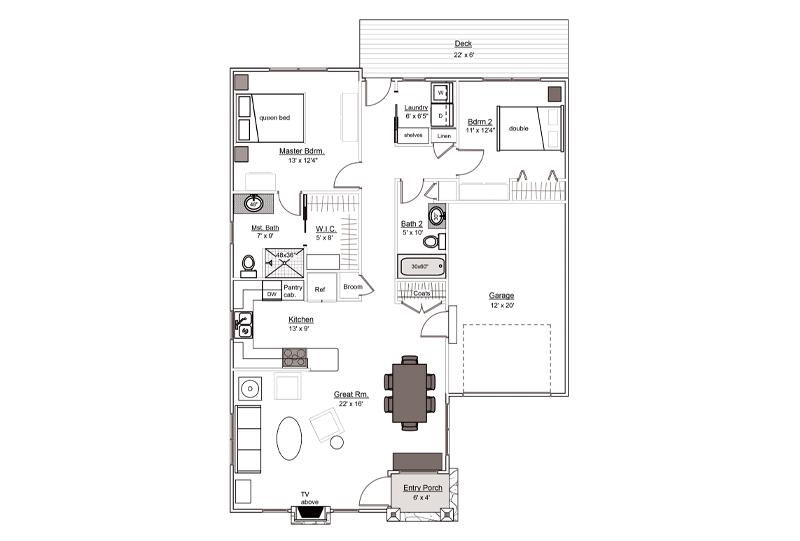 White Pine Floorplan